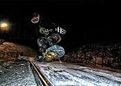휘닉스파크 야간 와이드박스 사진